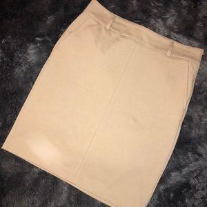 Banana Republic Tan Pencil Skirt - Size 12